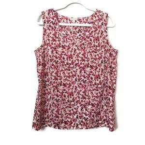 🆕️ Talbots Round Neck Poly blouse size medium